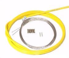Shimano Bicycle Brake Cable & Housing Kit MTB Mountain Bike Yellow