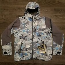 UNDER ARMOUR GORE-TEX Shoreman paclite Jacket Mens LARGE Hydro Camo Hunting
