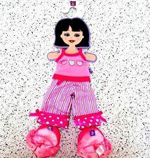 Friends 2B Made Doll Clothes Pajamas Sleep Tank Pants Slipper Shoes New