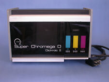 Omega Enlarger Super Chromega D 4X5 Lamphouse Dichroic II Color Head  (MH)