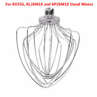 11 Wire Whip For KitchenAid 5 & 6 Quart Lift Stand Mixer KV25G, KL26M1X, KP26M1X