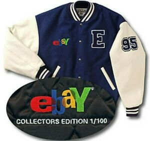 eBay Varsity Jacket Only 100 Limited by Roots Collector's Edition Wool Leather