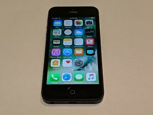 Apple iPhone 5 A1428 Black 16GB AT&T Wireless Smartphone/Cell Phone *Tested*