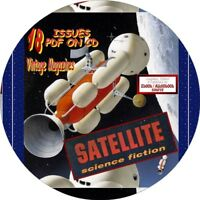 SATELLITE SCIENCE FICTION MAGAZINE - 18 VINTAGE ISSUES - PDF ON CD
