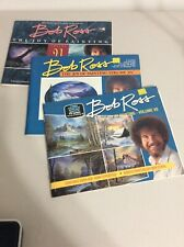 3 Bob Ross Painting Instructional Books TV's Happy Little Trees Guy