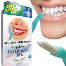 1Pcs Bleichen Zähne Dental Peeling Stick Mit 25Pcs Radiergummis Bürste Heiß
