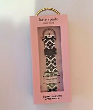 Kate Spade New York Silicone Watch Strap for Apple Watch 38 mm 40mm Brand New Bx