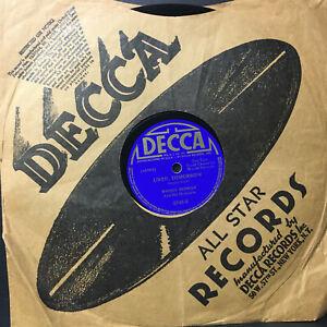 78 RPM Woody Herman G'Bye Now  Muriel lane 1941 Decca  Jukebox  Record Jazz