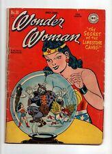 Wonder Woman #30 VINTAGE DC Comic Sensation Crystal Ball Golden Age 10c