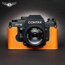 Contax RTS RST2 Half Case Genuine Leather Camera Insert Retro Cover TP Handmade