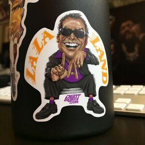 Lakers Sticker    LaLa Land Die Cut Vinyl Sticker Decal