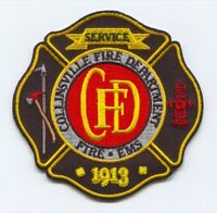 Collinsville Fire Department Patch Oklahoma OK