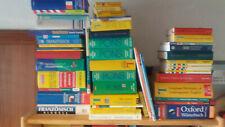ca. 30 Lexika, Wörterbücher, Pons, Langenscheid, Duden, beiSofortkauf Kiste voll