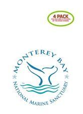 Monterey Bay Sticker Vinyl Decal 4 Pack