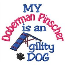 My Doberman Pinscher is An Agility Dog Short-Sleeved Tee - Dc2044L