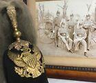1890's US Cavalry Dress Helmet Marmaduke Military Academy w/Large Cabinet Photo