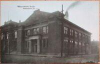 Streator, IL 1910 Postcard: Mason/Masonic Hall - Illinois Ill