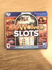 100 Wolf Slots 8 Game Collection Authentic Casino Slot Machine Game Pc