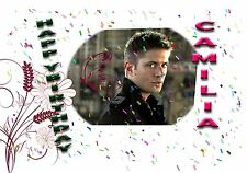 JENSEN ACKLES    - Personalised Birthday Greeting Card A5