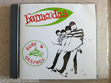 BARRACUDAS - SURF & DESTROY  CD  GMG FUN 1
