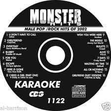 Karaoke Monster Hits Cd+G Male Pop/Rock Hits Of 2002 # 1122