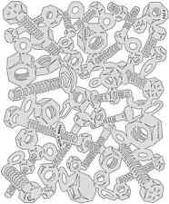 Craig Frasers Kustom FXII Artool Iwata Medea Airbrush Stencil Paint Nutz N Bolts