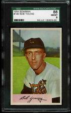 1954 Bowman #149 Bob Young *ORIOLES* SGC 88 NM/MT