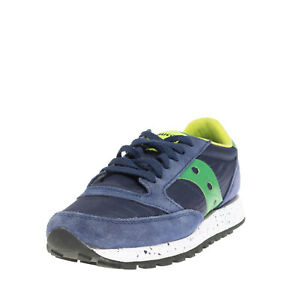 SAUCONY JAZZ ORIGINAL Sneakers EU 40.5 UK 6.5 US 7.5 Contrast Leather Round Toe