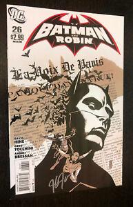 BATMAN AND ROBIN #26 -- VARIANT Cover Signed JG Jones -- VF/NM Or Better