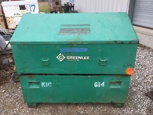 GREENLEE 60IN X 30IN X 36/48IN SLANT TOP PIANO BOX CABINET 3660/23196