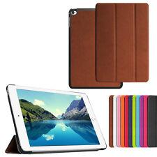 Slim Leather Folding Cover Case + Tempered Glass For ASUS ZenPad 10 Z300C Z300CL