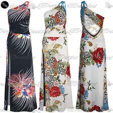 Unbranded One Shoulder Floral Maxi Dresses for Women