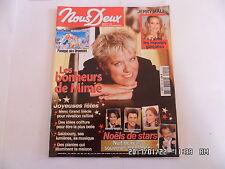 NOUS DEUX N°3051 20/12/2005 MIMIE MATHY NOEL DES STARS ROMAN PHOTOS     K17