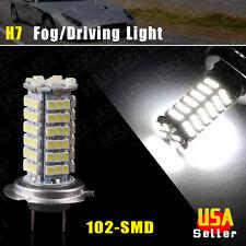 1X Vehicle Car H7 Xenon White 102-SMD LED Headlight Bulb Fog Light Lamp US 12V