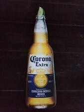 Corona extra Beer Tin Tacker Sign Bottle Can Lime Man Cave Bar Decor Shop metal