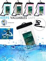Universal Waterproof Mobile Phone 6 inch Case Dry Cover Bag Pouch iPhone 6 Plus