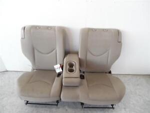 2006-2009 Toyota RAV4 Rear 2nd Row Seat Assembly 60/40 Tan Beige Cloth OEM