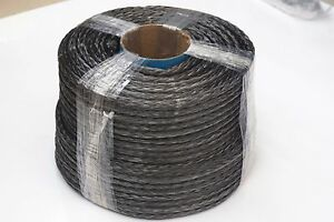 Gray 10mm*100m Synthetic Winch Rope,UHMWPE Rope,Spectra Rope,ATV UTV Winch Line