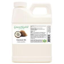 16 fl oz Coconut Carrier Oil (100% Pure & Natural) Plastic Jug