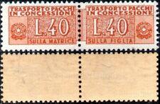 Italia 1953 - Pacchi in concessione - serie completa nuova **/MNH