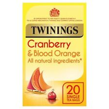 Twinings Cranberry & Blood Orange Infusions - 20 per pack (0.09lbs)
