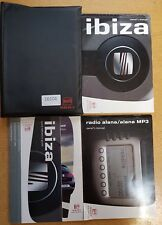 SEAT IBIZA HANDBOOK OWNERS MANUAL WALLET 2006-2008 PACK 16104