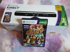 Xbox 360 Kinect with Kinect Adventures Game Motion Action PAL
