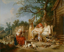 """perfect oil painting handpainted on canvas """" The Russian Cradle""""@N15681"""