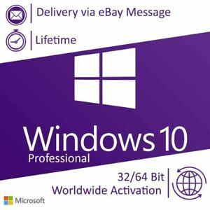 ®Window10® Pro 🔐 Activation Key ✴️ (32-64 Bit) Full Version License ✴️