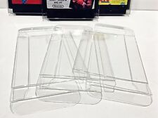 10 Box Protectors For NINTENDO FAMICOM Cartridges   Custom Clear Display Cases