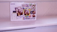 FUJIFILM Instax Share SP-2 Photo Printer & 10 Shot Bundle GOLD