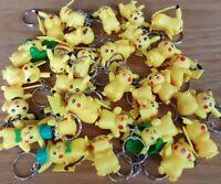 Pikachu  Keyrings - Loads of awesome different Pokemon designs - UK Seller