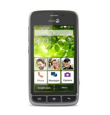 Doro Liberto 820 Mini (Unlocked) Steel Gray -3G, Smart Android Phone