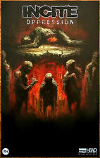 Incite Oppression 2016 Ltd Ed New Rare Poster +Free Metal Rock Poster! Soulfly
